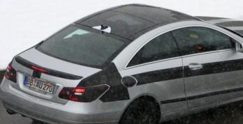 Mercedes E-Class Coupe  със стъклен покрив 00001171